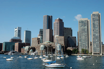 Boston Massachusetts Waterfront